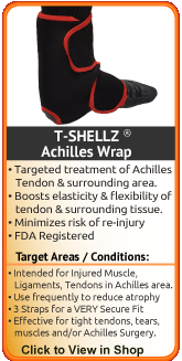 Deep tissue therapy for torn achilles, ruptured achilles, achilles tendon